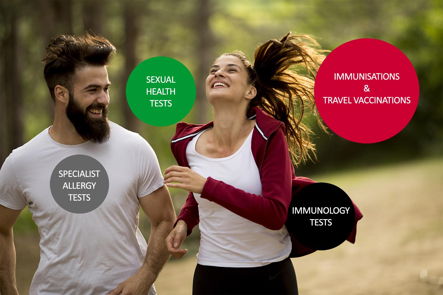 Harmony Health and Travel - Our Services